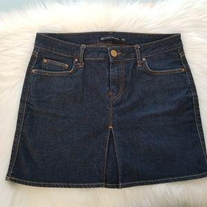 Zara Woman Denim Mini Skirt Sz 6